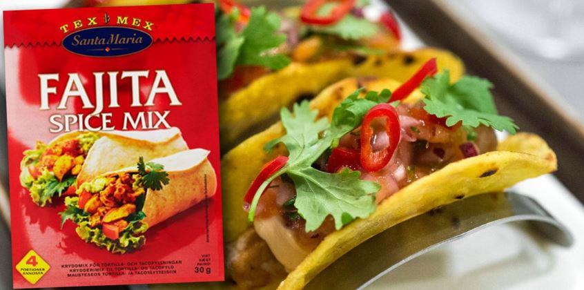 Tacoprodukter aterkallas